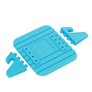 Image 5 - Car Dashboard Non slip Mat Rubber Mount Phone Holder Pad Mobile Phone Stand Bracket For Samsung Mobile Holder #2