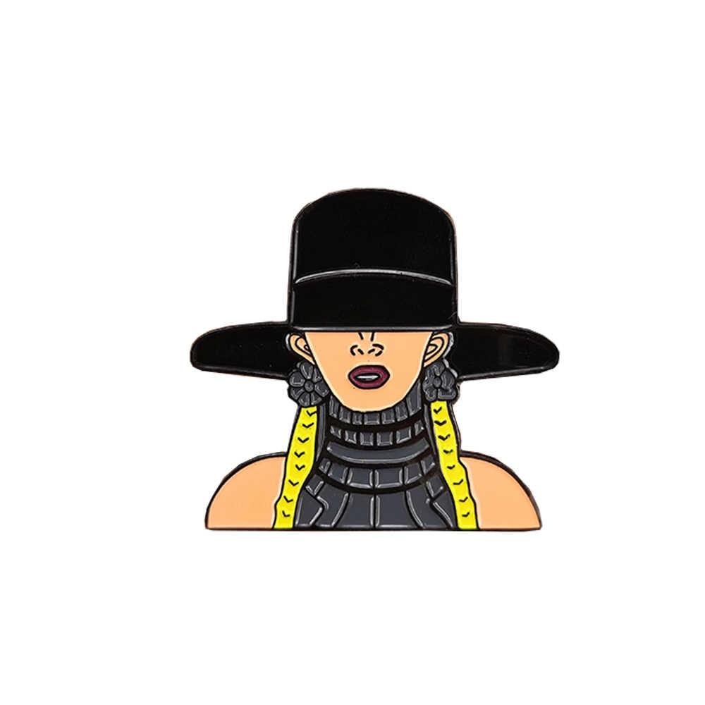 Feminism I Slay Beyonce Formation Feminist Art Lemonade Pin