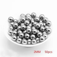50 шт 200 шт 2-6 мм стальные шарики, используемые для охоты, высокое качество, рогатки из нержавеющей стали, рогатки, шары, удары по патронам