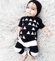 Hot Striped Summer 2pcs Newborn Infant Baby Boys Kid Clothes T-shirt Tops + Pants Outfits Sets 0-24 Children's Clothing Set
