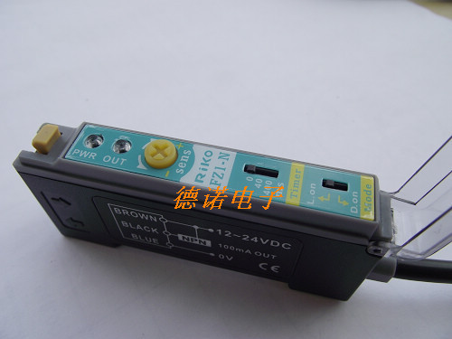 где купить Photoelectric switch new original FZ1-N fiber amplifier RIKO дешево