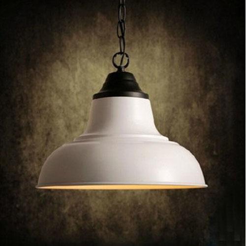 Modern minimalist Pendant Lights retro white iron heavy metal industrial shade restaurant bar style LU720154