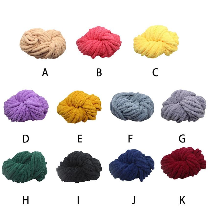 Super grueso suave SEDA Natural lana hilo de tejer a mano ganchillo ...