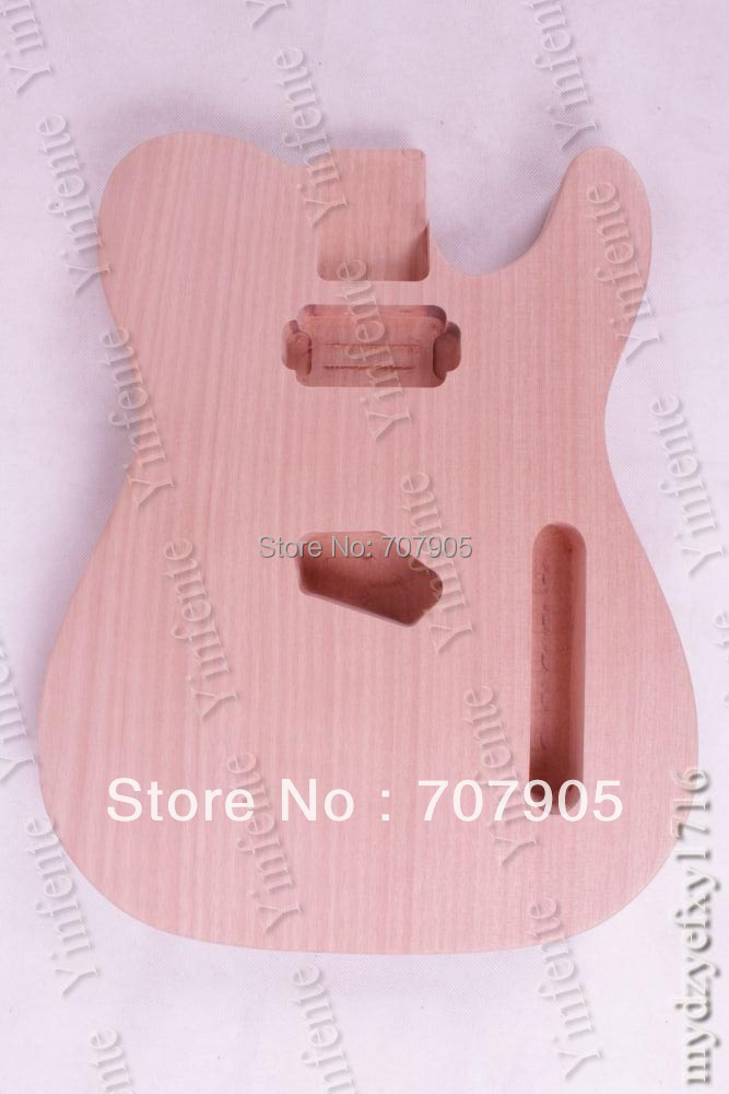 Electric guitar body TL Mahogany MADE  High quality 1 pcs GUITAR PART  guitar accessories custom shop tl electric guitar classical tele 53 relics yellow milk color relic by hands high quality limited issue signature