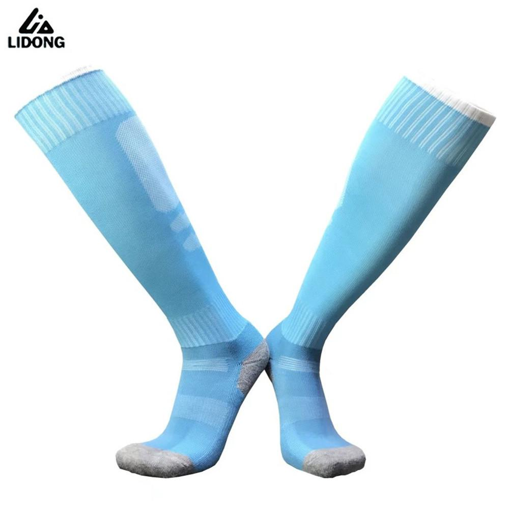 High Quality Kids Football Socks Long Tube Boys And Girls Soccer Socks Thickening Towel Stokings Sports Socks Protective Foot