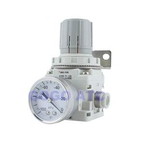Image 4 - Regulador de vácuo de pressão negativa irv10/20 em linha reta/encaixes de cotovelo com medidor de pressão/regulador de interruptor de pressão digital