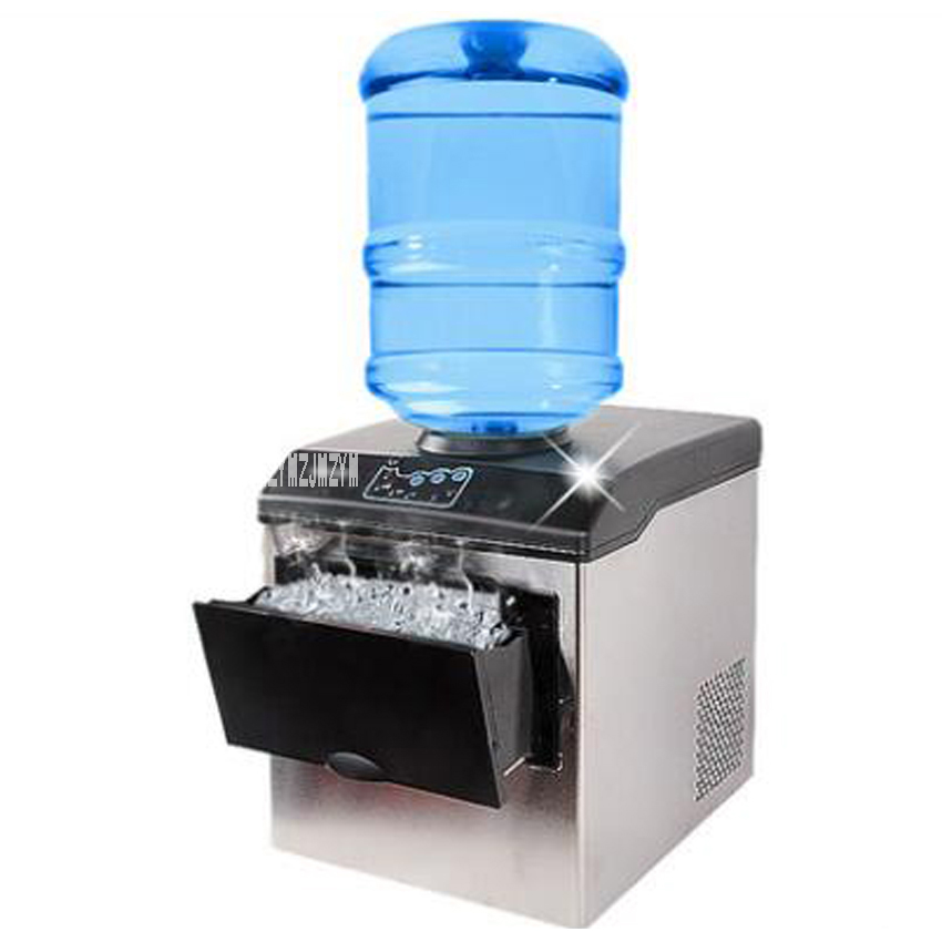 1 PZ HZB25 220 V 160 W 25 KG Commerciale Elettrico Controsoffitto Proiettile di Ghiaccio Macchina Per Caffè Latte Negozio di Tè