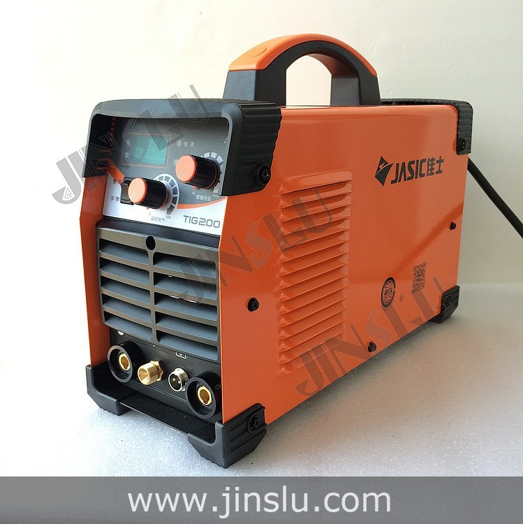 Jasic Inverter DC Argon Tig Welding Machine Tig Welder Tig-200 MMA HF Arc Ignition with QQ-150 Tig Torch free consumables new manual argon inverter igbt arc welder mma dc tig welding inverter machine