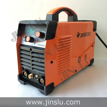 Jasic Inverter DC Argon Tig Welding Machine Tig Welder  Tig-200 MMA HF Arc Ignition with QQ-150 Tig Torch free consumables inverter dc argon arc welding machine base plate with high silicon bridge arc plate clamp configuration of four new capacitance