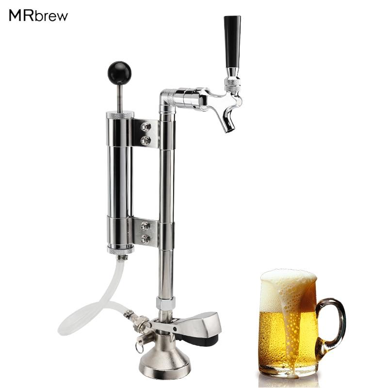 Beer keg Party pump set, Beer Tap G Type Keg Coupler Dispenser Beer Faucet System,Beer Pump with 5/8'G