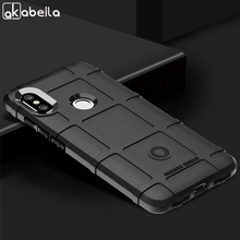 AKABEILA For Xiaomi Redmi Note 6 Pro Case Soft Silicone Cover Xiomi Note6 Rugged Armor TPU Phone Cases Bags