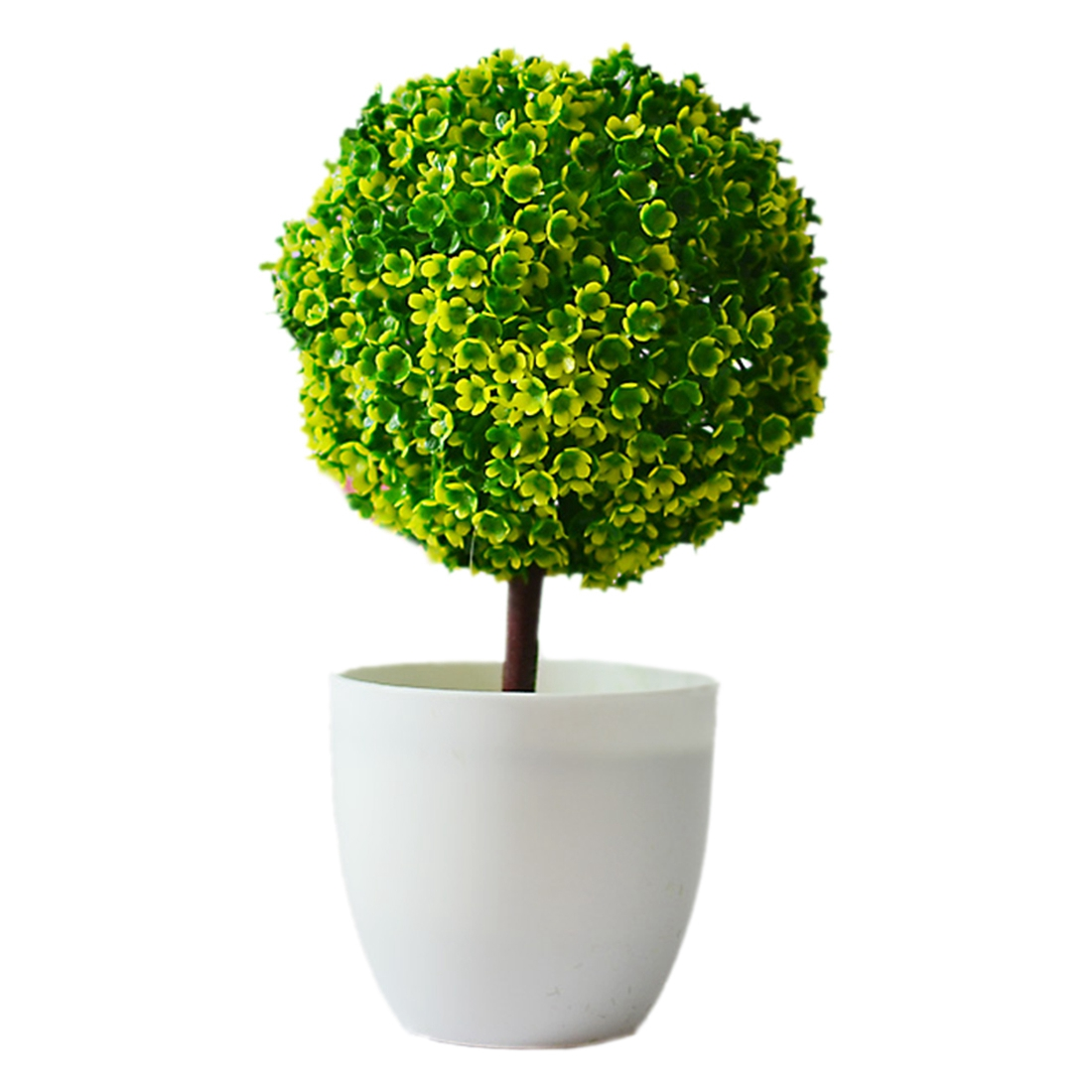 Compra planta artificial bola online al por mayor de china - Plantas artificiales decorativas ...