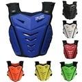 KAWOSEN Motocicletas Motocross Pecho Parte Posterior del Protector Armadura Chaleco Racing Protective Body-Guard Chaqueta Motocross Off Road Race MA03