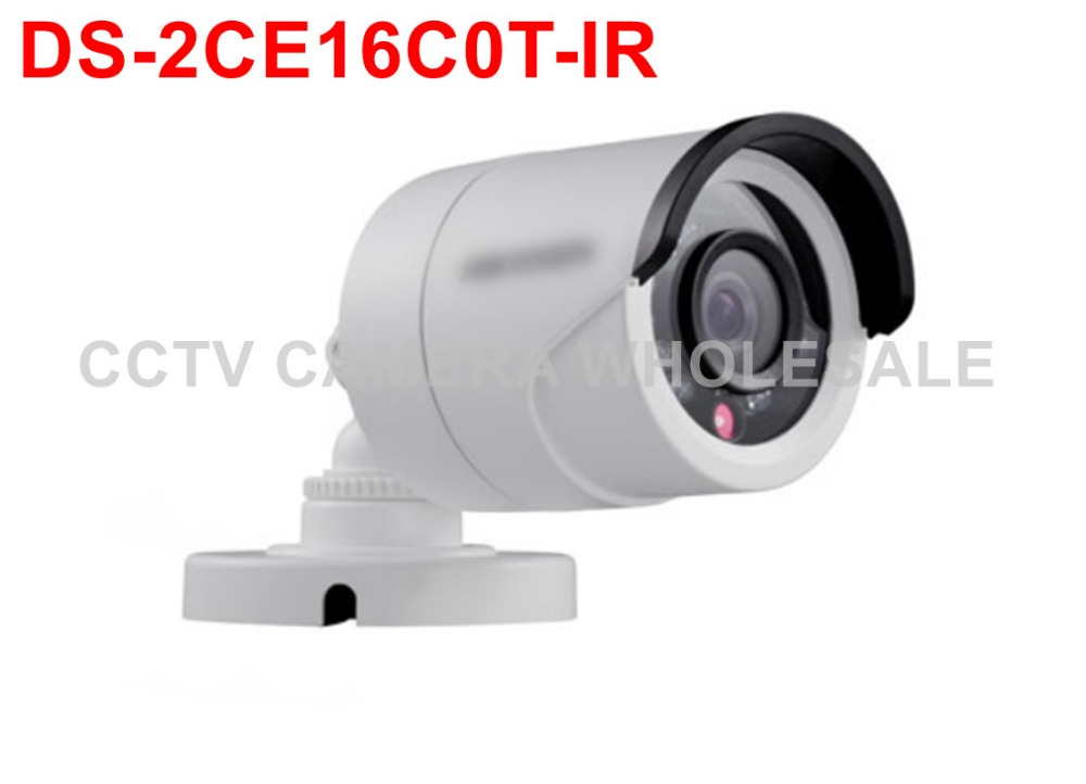 ФОТО English version DS-2CE16C0T-IR Turbo HD camera 720P bullet TVI camera 20M IR