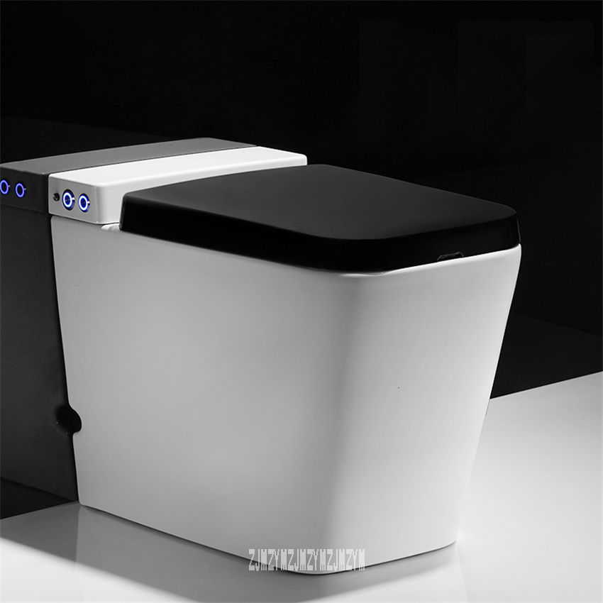 M1010 Electric Toilet Super Swirl Type Pumping Toilet Household Ceramic Toilet Small Apartment Electric WC Toilet 4.5W