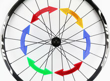 Bike Bicycle Cycle Wheel Spoke Reflective Reflector Arrow Shape MTB Road Bike Cycling Bicycle Accessories For Safe And Warning