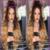 7A Cheia do laço perucas de cabelo humano #4/#613 castanho para loiro ombre perucas com o cabelo do bebê parte dianteira do laço perucas de cabelo humano dois tons Ombre perucas