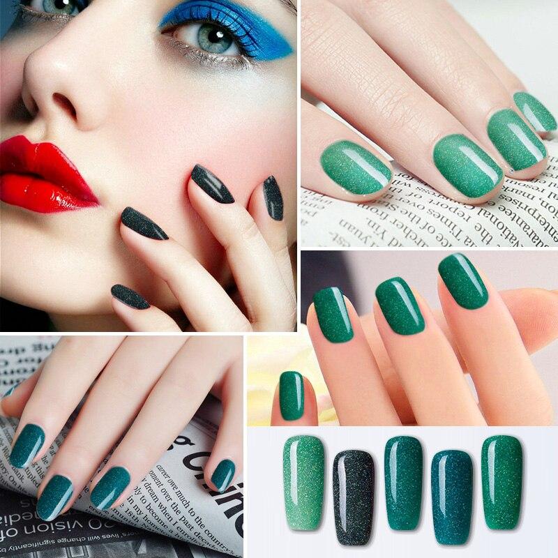 Modelones Beautiful Neon Rainbow Nails 10ML UV Nail Gel Polish ...
