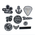 7*7cm 1pcs Mixed DIY Badge Patches For Clothing Applique Embroidery Iron/Sew On Patches For Sticker Clothes 9Colors