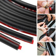 цена на Mgoodoo 5M Auto Car Door Moulding Rubber Sealing Strip Anti-scratch Sticker Trim Guard Edge Protector Strip Cover Protection