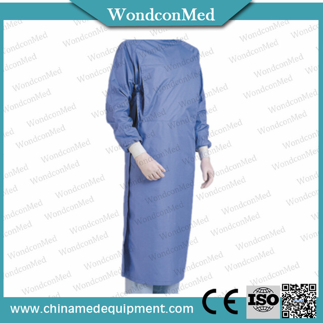 Surgical medical Operating gown disposable plastic surgical gown ...