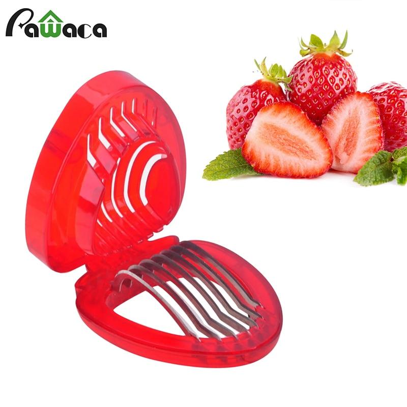 Strawberry Slicer Cutter Egg Slicer Shredder for Fruit Salads Cutter, Desserts, Carving Cake Decorative, Cooking Kitchen Gadgets