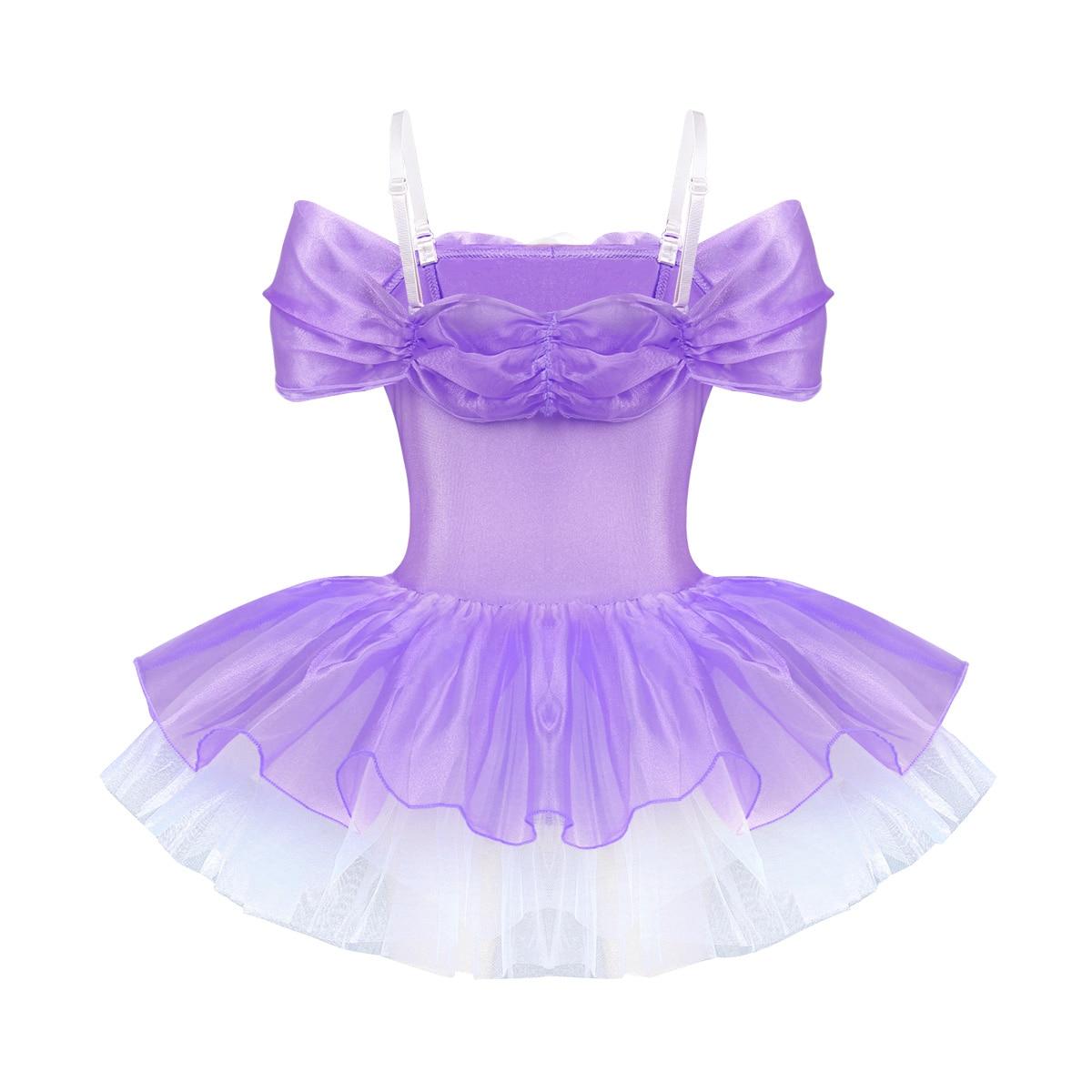 Velvet Leotard Dance Costume Princess Costume Halloween Girls Dance Costume Leotard Ballet Flower Costume Tutu Ballet Costume