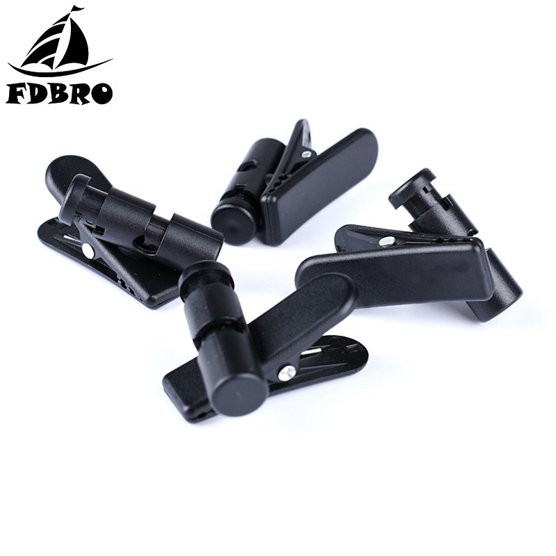 FDBRO Cable Cord Clip Clamp Collar Headset Clamp Collar Clip Rotating Clamps Headphone Cable Clips Earphone Winder Accessories