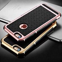 À prova de choque capa de silicone para o iphone 6 6 s/6 6 s plus/5 5S se tampa traseira tpu capinha para apple iphone 6 coque s 6 s caso de silício