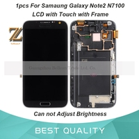 1pcs 5 5 For Samsung Galaxy Note 2 Note2 II N7100 LCD Display Digitizer Touch Screen