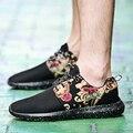 Más el Tamaño 35-45 Par Zapatos Para Hombre Casual Sport Mesh Presto Transpirable Para Hombre Entrenadores Zapatillas Deportivas Mujer Zapatos Hombre