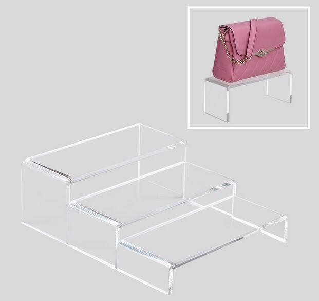 Responsible Free Shipping Fashion Single Curved Hook Light Hanging Bags Holder Adjustable Wig/silk Scarves/purse/handbag Display Stand Rack Living Room Furniture Home Furniture
