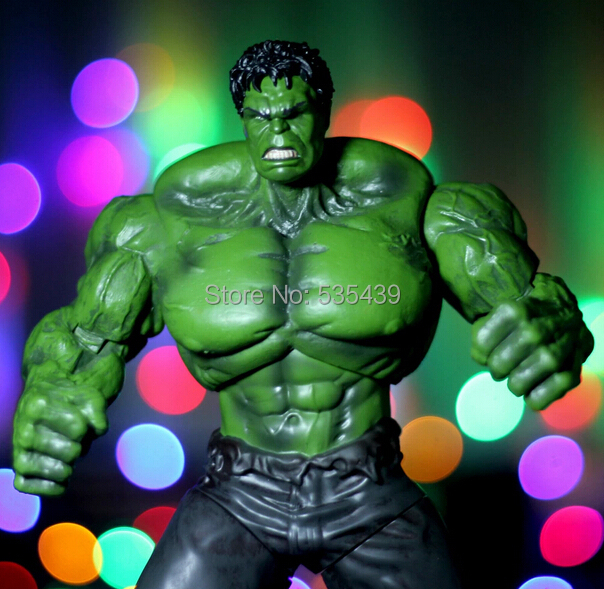 NEW HOT 1pcs 26cm Super Hero The Avengers Movie Hulk Action Figures Toys PVC Model Dolls Movable 2017 new avengers super hero iron man hulk toys with led light pvc action figure model toys kids halloween gift