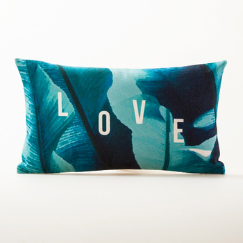 Love Palm Cushion Cover