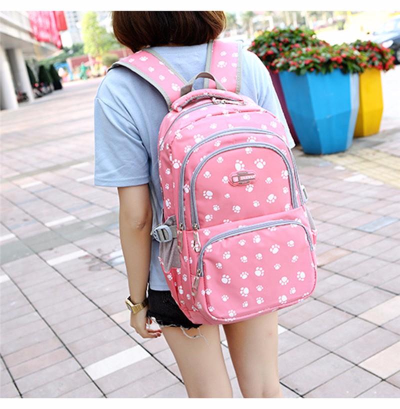 Fashion kids book bag breathable backpacks children school bags women leisure travel shoulder backpack mochila escolar infantil 1