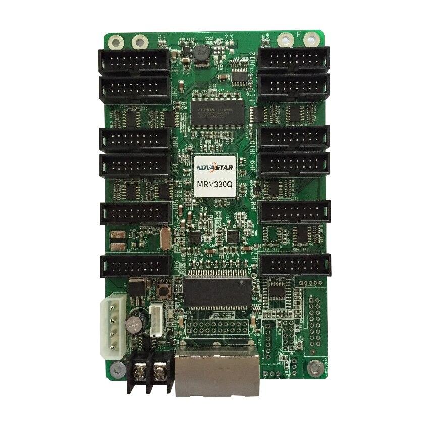 Full Color LED Video Display Synchronous LED Display Nova MRV336 Receiving Card MRV330 P3 P4 P5 P6 P8 P10 hub75 control card