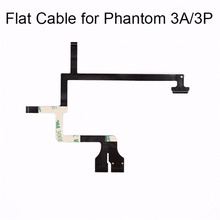 цена на DJI Phantom 3 Flexible Gimbal Cable Flex Flat Ribbon Cable for DJI Phantom 3 Camera Drone 3A 3P 3S SE Camera Repairing Parts