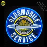 Неоновая вывеска для Oldsmobile Услуги неоновая вывеска остекленная Пивной бар PUB газа, нефти станции магазин дисплей ресторан с доска