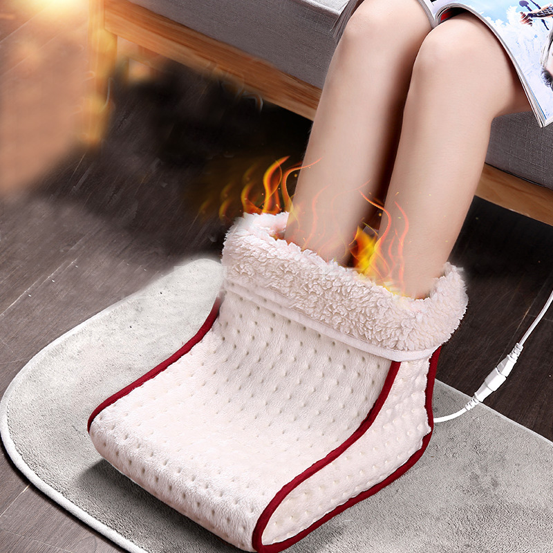 2018 New Big Feet Warm Slippers Foot Warmer Shoes Electric Heat Intelligent temperature control Slipper soft and comfortable 220v big feet warm slippers new cartoon foot warmer shoes electric heat winter home indoor soft sneaker
