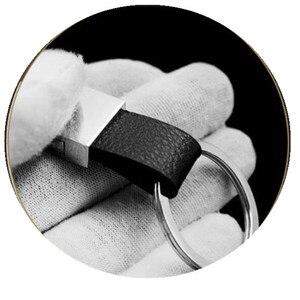 Image 5 - 3D Fashoin Alloy prawdziwej skóry brelok samochodowy znaczek z symbolem breloczek dla dacia duster Logan Sandero Stepway Lodgy Car Styling
