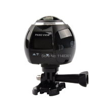 Новинка 2017 года 4 К Wi-Fi 360 панорамный Камера Спорт на открытом воздухе Камера Водонепроницаемый Камера Дайвинг Камера