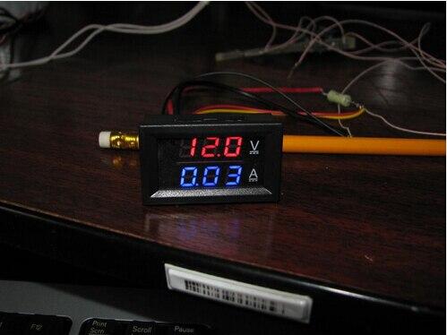 Elektronske kompon. ... Aktivne komponente ... 32642936158 ... 2 ... DC 0-100V 10A Digital Voltmeter Ammeter Dual Display Voltage Detector Current Meter Panel Amp Volt Gauge 0.28