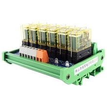 цена на Relay single-group module 6-way compatible NPN/PNP signal output PLC driver board control board