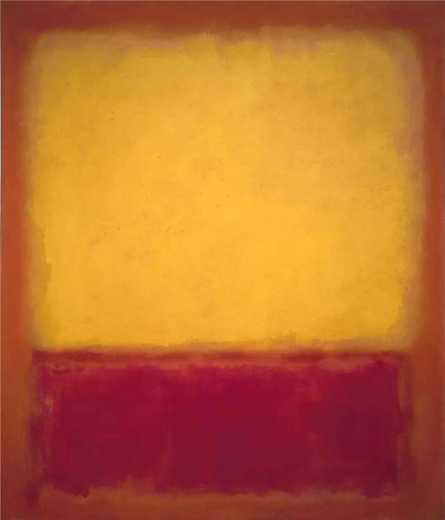 Peint à la main marque Rothko classique peinture à l'huile mur Art photo décor à la maison toile impression salon moderne pas de cadre