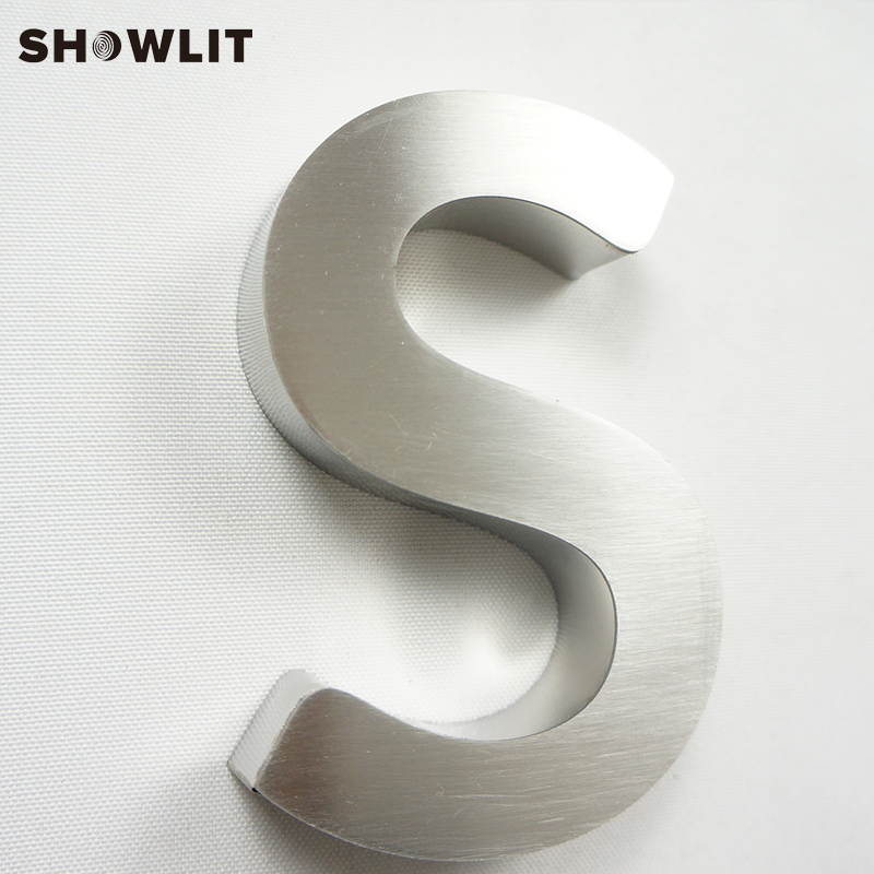 Stainless Steel With Acrylic Custom Made Laser Cut House Sign Door Numbers
