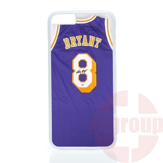 Hard Mobile Phone LA Lakers Kobe Bryant Jersey Autograph For Apple iPhone 4 4S 5 5C SE 6 6S 7 Plus 4.7 5.5 iPod Touch 4 5 6
