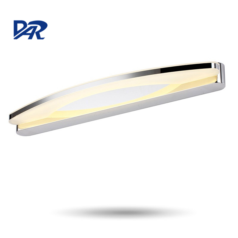 Fashion Acrylic Modern LED Wall Lamp Mirror Front Lamp Wall Mounted Bathroom Light Mirror Light Apliques Pared Luminaria Sconce 800 wires soft silver occ alloy teflo aft earphone headphone cable for audeze lcd 3 lcd3 lcd 2 lcd2 ln005399