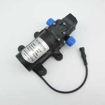 DC 80W 5.5L/min Electric Automatic pressure switch type High pressure self priming water pump 12 volt dc 5 5l min 24v dc 80w high pressure self priming sprayer pump electric diaphragm pump