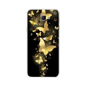 Image 4 - Coque de téléphone pour Samsung Galaxy A3 A5 2016 2017 Coque souple en Silicone TPU mignon chat peint couverture arrière pour Samsung A 3 A 5