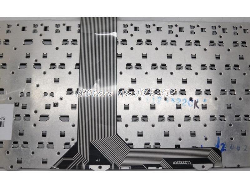 Laptop Keyboard for MSI GE60 V139922CK1 PO Portugal Black Frame